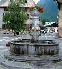 fontaine samoens
